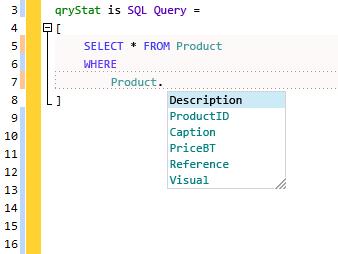 La entrada SQL asistida